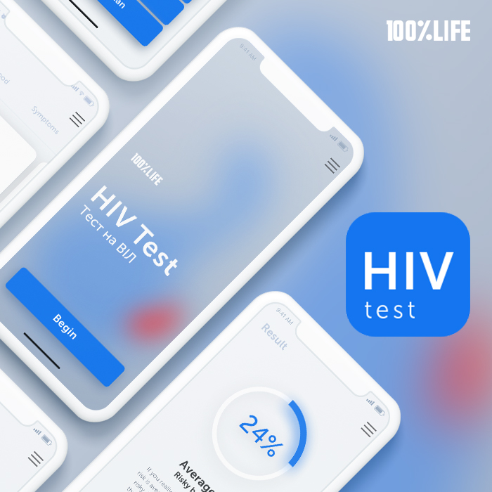 Development of mobile application, identifying the risk of AIDS infection